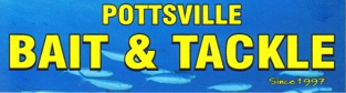 pottsville bait and tackle logo
